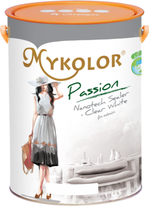 MYKOLOR PASSION NANOTECH SEALER – CLEAR WHITE FOR EXTERIOR - SƠN LÓT CÔNG NGHỆ CAO NANO – CLEAR WHITE