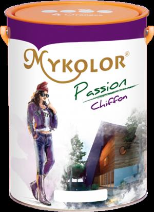 MYKOLOR PASSION CHIFFON - SƠN NƯỚC NGOẠI THẤT BÓNG NHẸ