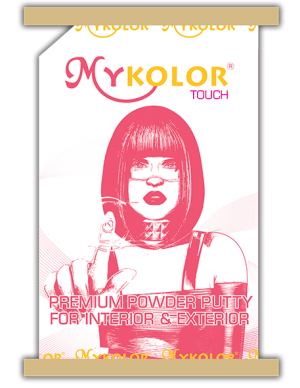 MYKOLOR TOUCH POWDER PUTTY FOR INTERIOR & EXTERIOR - BỘT TRÉT TƯỜNG NGOẠI & NỘI THẤT